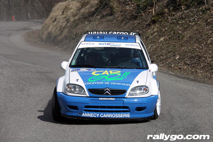 Rallye du Pays de Faverges 2005 - #  1 - Citroën Saxo S1600 [1AA]