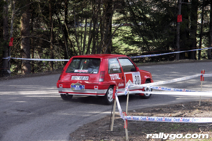 Rallye du Pays de Faverges 2005 - # 20 - Renault 5 GT Turbo [1AA]