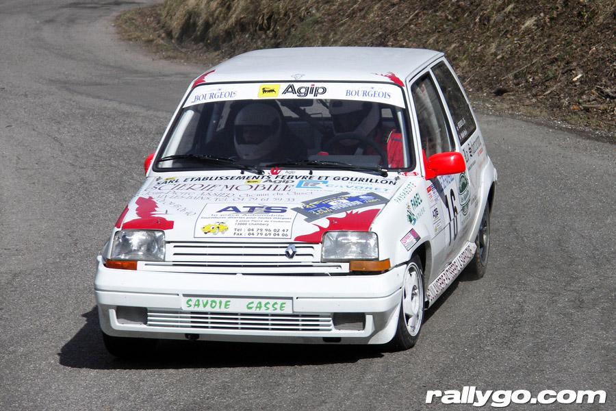 Rallye du Pays de Faverges 2005 - # 16 - Renault 5 GT Turbo [1AA]