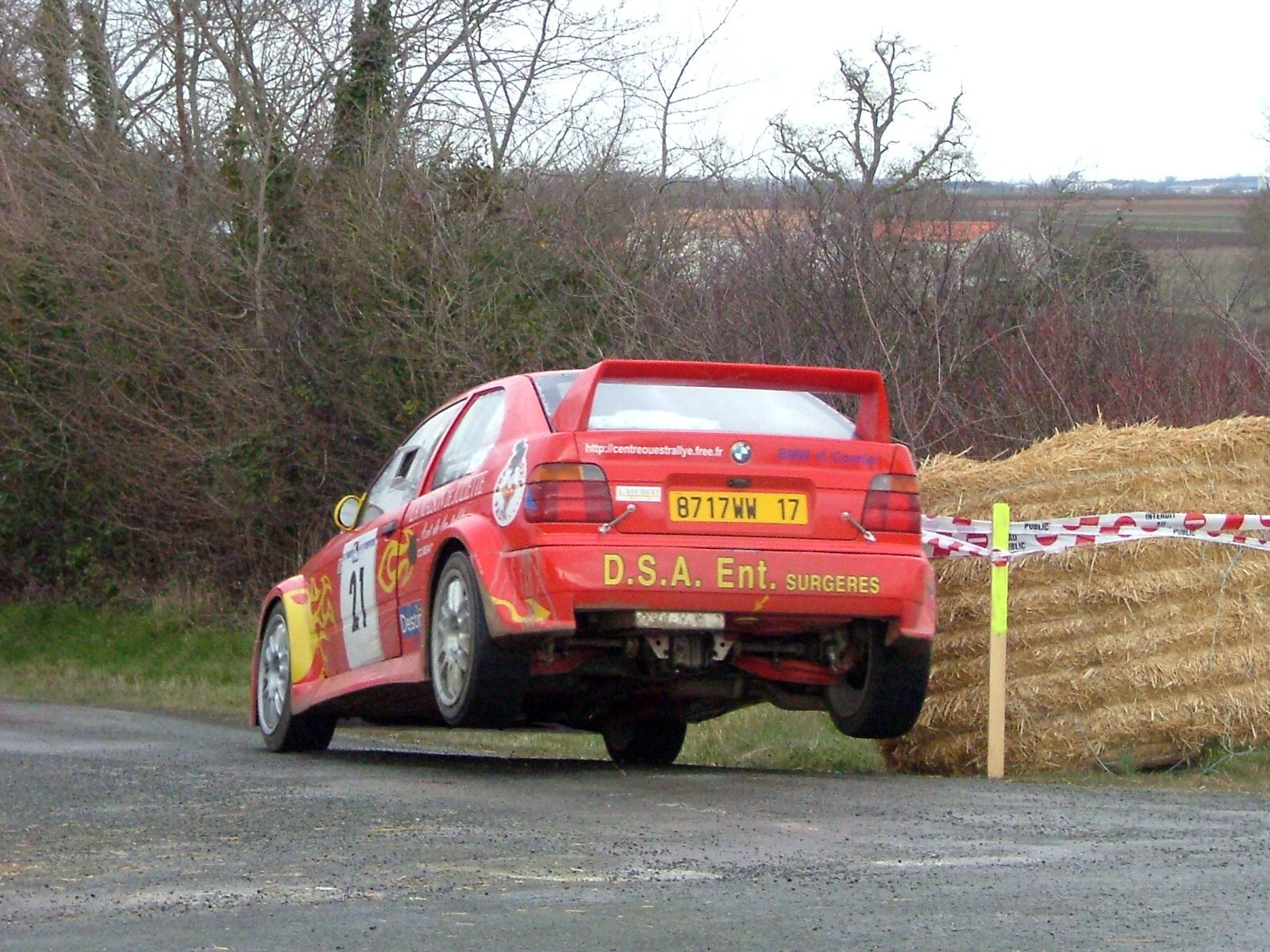 Rallye du Pays d'Aunis 2005 - # 21 - BMW 318 TI Compact [1A]