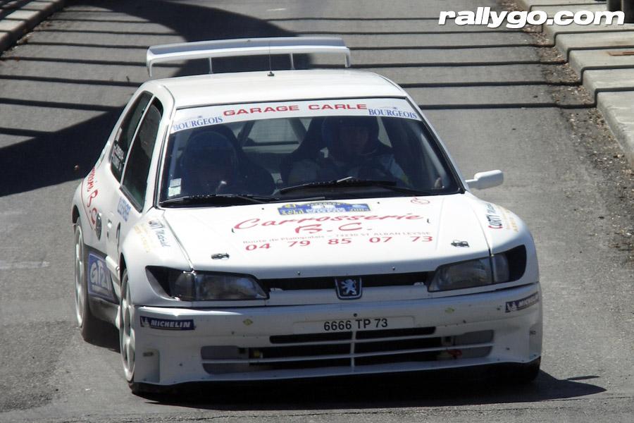 Rallye du Pays de Faverges 2005 - #  3 - Peugeot 306 Maxi [1BA]