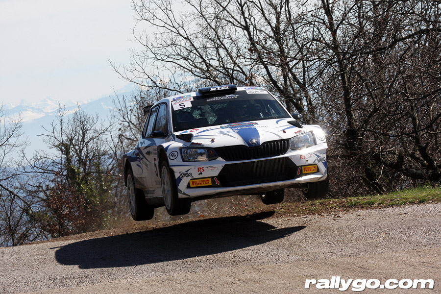 Rallye Pays du Gier 2019 - #  5 - Škoda Fabia R5 [1AA]