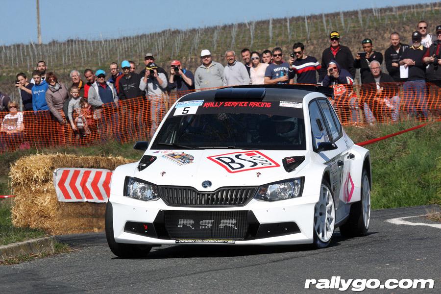 Rallye des Vignes de Régnié 2019 - #  5 - Škoda Fabia R5 [1AC]