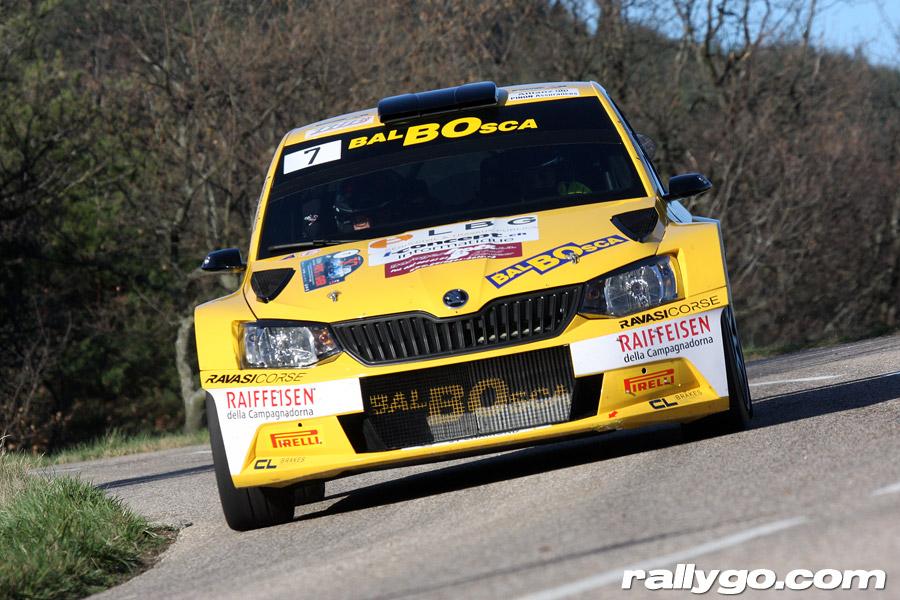 Rallye Pays du Gier 2019 - #  7 - Škoda Fabia R5 [1BB]