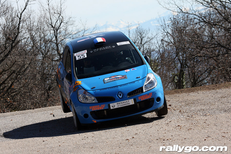 Rallye Pays du Gier 2019 - # 55 - Renault Clio RS [1AB]