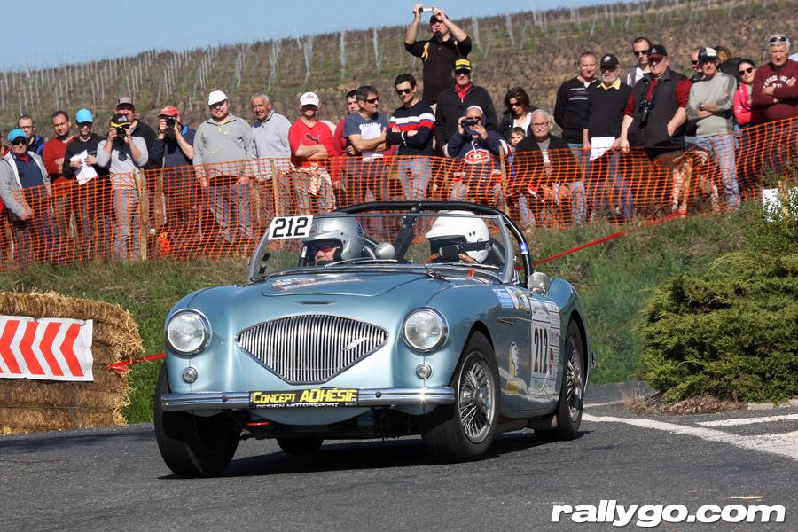 Rallye des Vignes de Régnié 2019 - #212 - Austin Healey 100 [1AB]