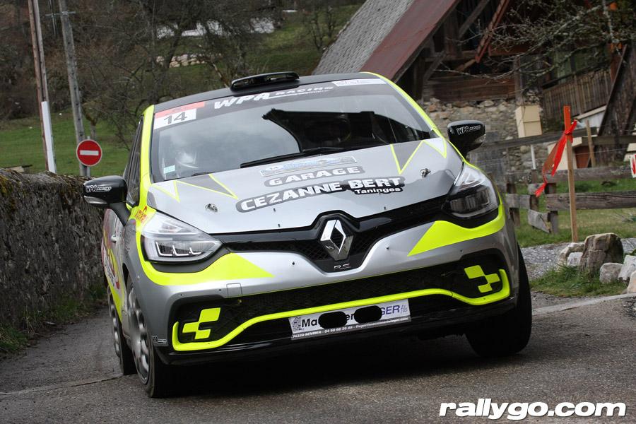 Rallye du Pays de Faverges 2019 - # 14 - Renault Clio R3T [1CC]