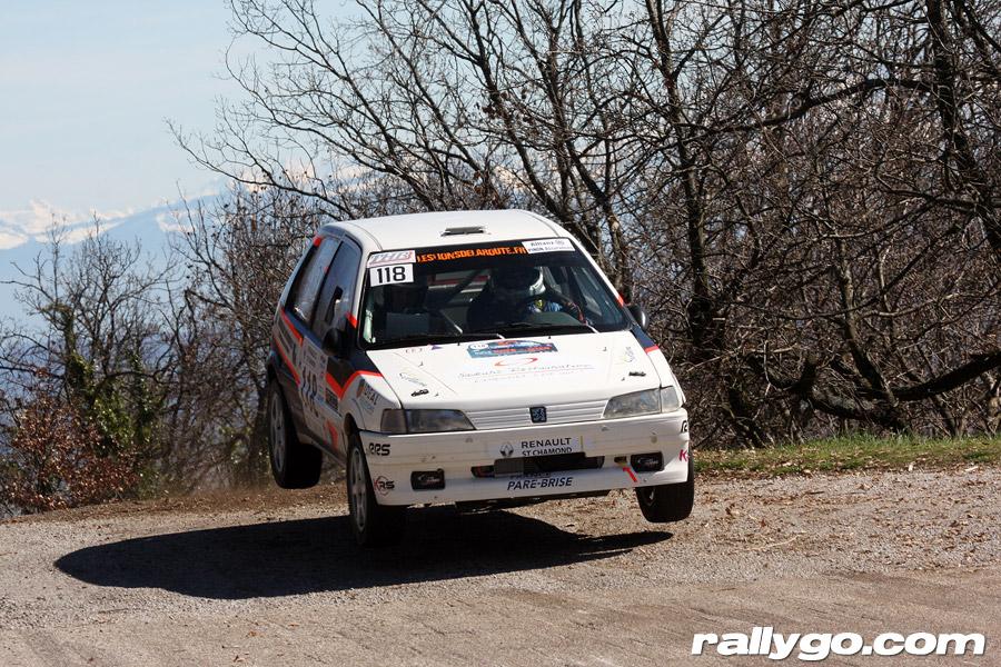 Rallye Pays du Gier 2019 - #118 - Peugeot 106 XSI [1AA]