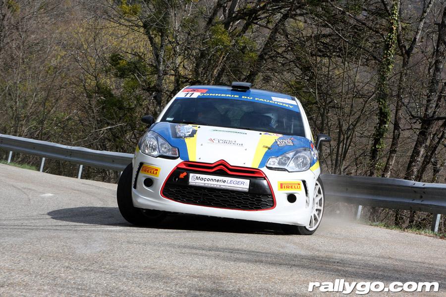Rallye du Pays de Faverges 2019 - # 11 - Citroën DS3 R3 [1AA]