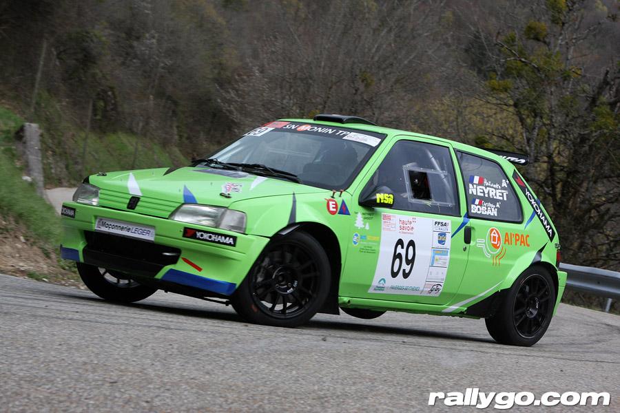 Rallye du Pays de Faverges 2019 - # 69 - Peugeot 106 [1AC]
