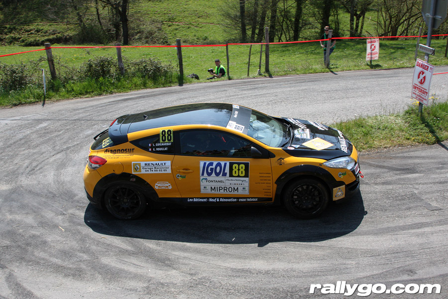 Rallye Lyon Charbonnières 2019 - # 88 - Renault Megane RS [1AE]