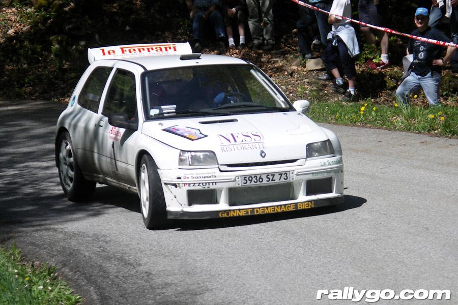 Rallye du Beaufortain 2005 - #  1 - Renault Clio Maxi [1BA]
