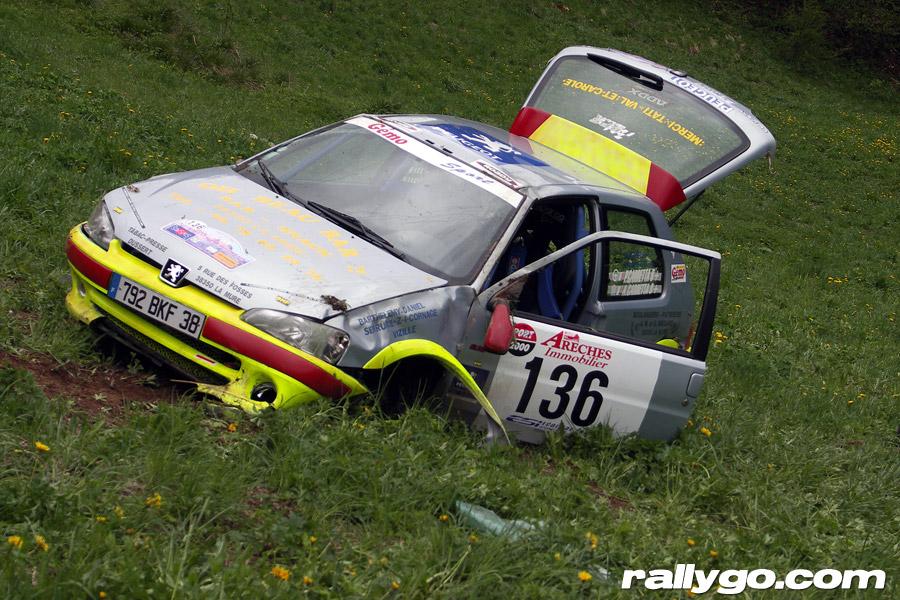 Rallye du Beaufortain 2005 - #136 - Peugeot 106 S16 [1AA]