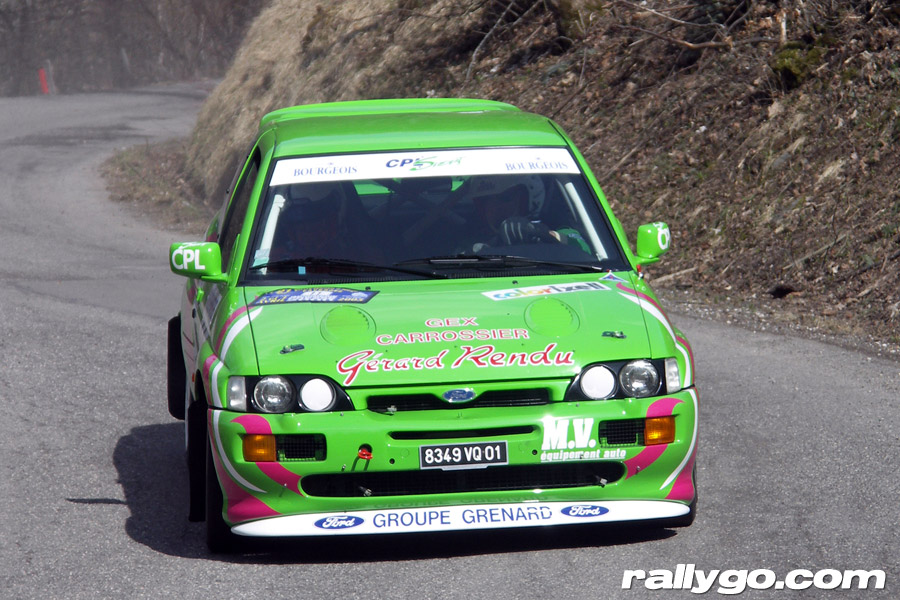Rallye du Pays de Faverges 2005 - # 11 - Ford Escort Cosworth [1AA]