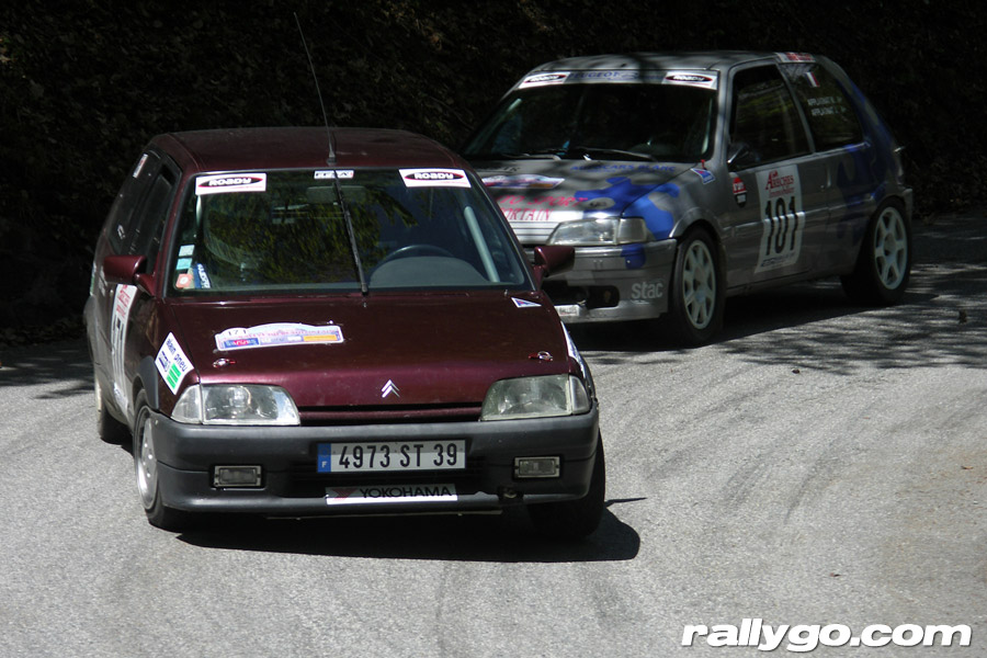 Rallye du Beaufortain 2005 - #171 - Citroën AX Sport [1BA]