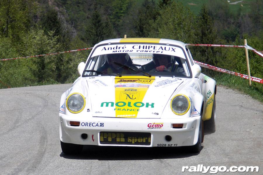 Rallye du Beaufortain 2005 - #  0 - Porsche 911 SC [1CA]