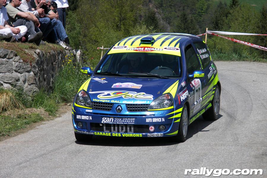 Rallye du Beaufortain 2005 - # 78 - Renault Clio Ragnotti [1CA]