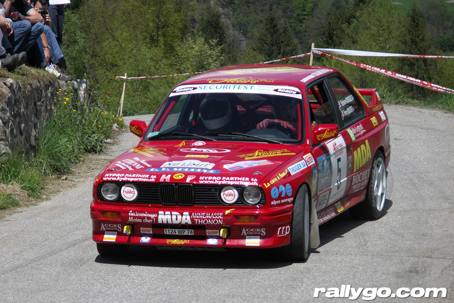 Rallye du Beaufortain 2005 - #  5 - BMW M3 [1CA]