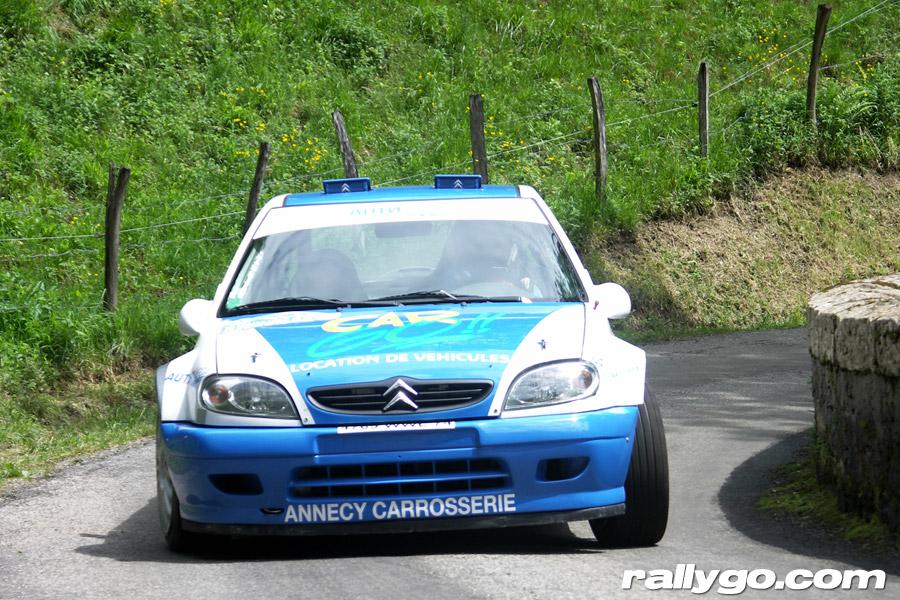 Rallye de l'Épine - Mont du Chat 2005 - #  1 - Citroën Saxo S1600 [1BA]