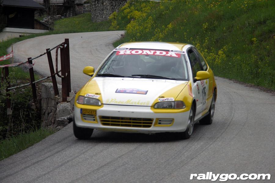 Rallye du Beaufortain 2005 - #125 - Honda Civic VTI [1AA]