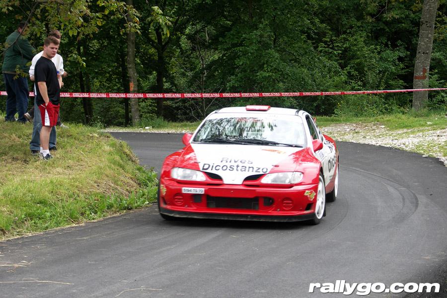 Rallye de l'Épine - Mont du Chat 2005 - #  2 - Renault Mégane Maxi [1CA]