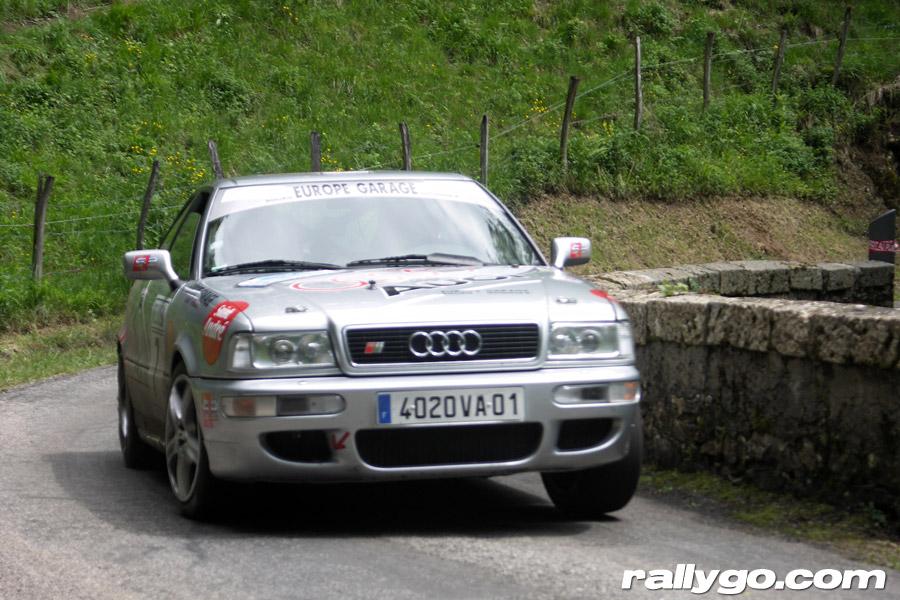 Rallye de l'Épine - Mont du Chat 2005 - #  7 - Audi S2 [1BA]