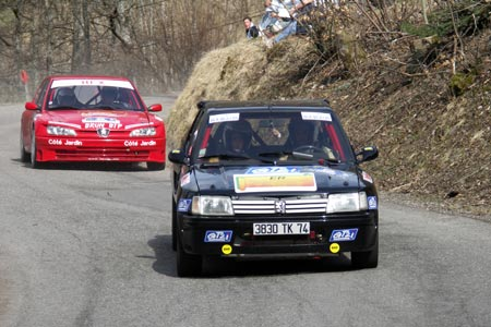 Photo Rallye de la Noix de Grenoble 2007 - # 64 - Renault Clio Ragnotti [1AA]