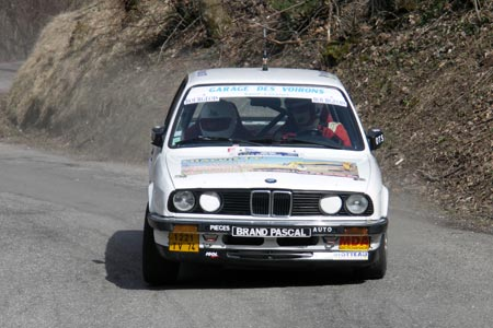 Rallye du Pays de Faverges 2005 - #  9 - BMW 325 I [1AA]