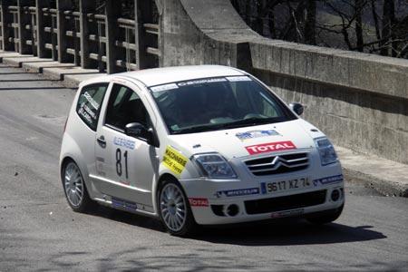 Rallye du Pays de Faverges 2005 - # 81 - Citroën C2 Challenge [1BA]