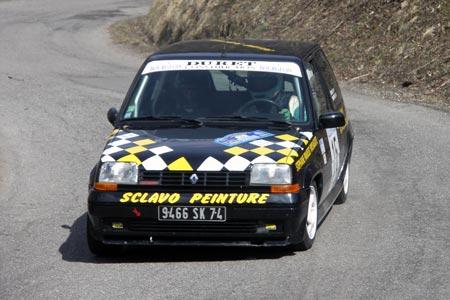 Rallye du Pays de Faverges 2005 - # 15 - Renault 5 GT Turbo [1AA]