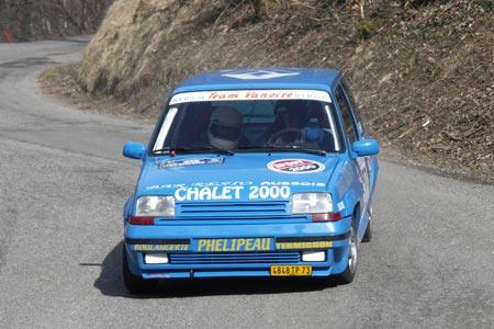 Rallye du Pays de Faverges 2005 - # 27 - Renault 5 GT Turbo [1AA]
