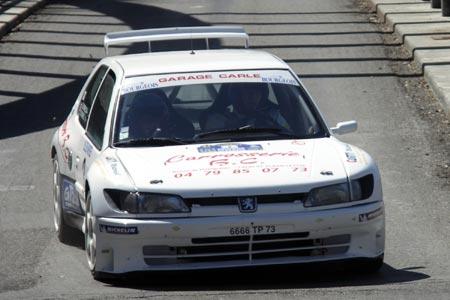 Photo Rallye du Pays de Faverges 2005 - #  3 - Peugeot 306 Maxi [1BA]