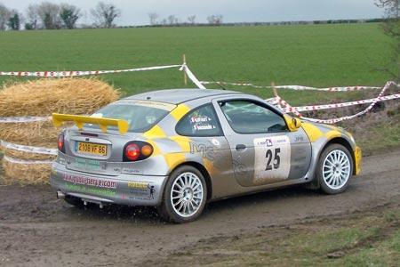 Photo Rallye du Pays d'Aunis 2005 - # 25 - Renault Mégane [1A]