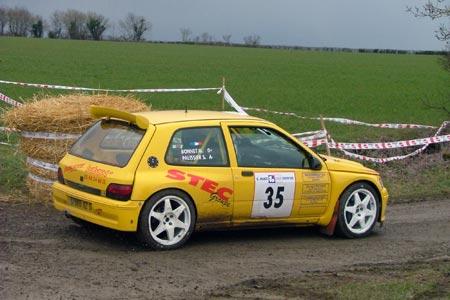 Rallye du Pays d'Aunis 2005 - # 35 - Renault Clio Maxi [1A]