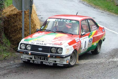 Photo Rallye du Suran 2007 - #  3 - Peugeot 306 Maxi [1CB]