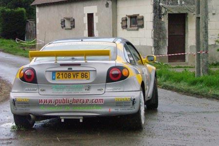 Rallye du Val de l'Indre 2005 - # 23 - Renault Mégane Maxi [1C]