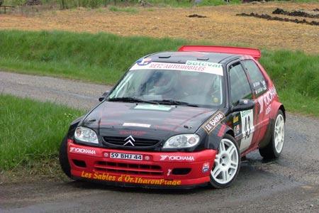 Rallye du Val de l'Indre 2005 - # 42 - Citroën Saxo S1600 [1A]