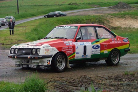 Rallye du Jardin de la France 2005 - #  0 - Ford Escort RS 2000 [1A]