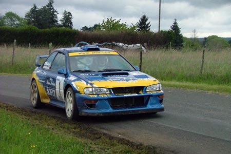 Rallye du Jardin de la France 2005 - #  1 - Subaru Impreza WRC [1A]