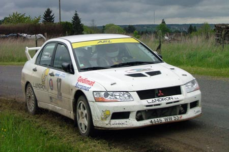Photo Rallye du Pays de Faverges 2005 - #  3 - Peugeot 306 Maxi [1BA]