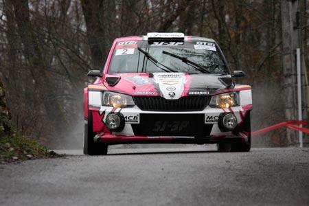 Rallye du Pays de Faverges 2019 - #  2 - Škoda Fabia R5 [1BA]