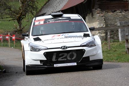 Rallye du Pays de Faverges 2019 - #  4 - Hyundai I20 R5 [1CB]