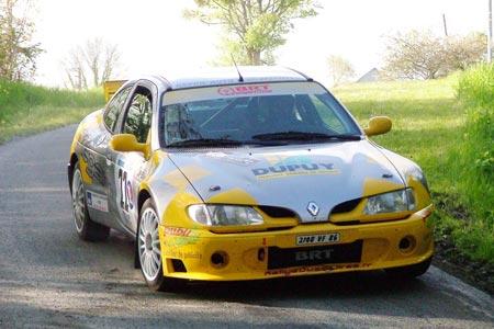 Rallye du Jardin de la France 2005 - # 22 - Renault Mégane Maxi [1A]