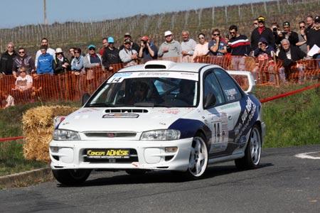 Photo Rallye des Vignes de Régnié 2019 - # 14 - Subaru Impreza GT Turbo [1AA]