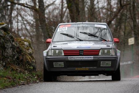 Rallye du Pays de Faverges 2019 - #101 - Peugeot 205 Rallye [1BB]