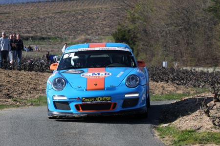 Rallye des Vignes de Régnié 2019 - #  7 - Porsche 997 GT3 [1BB]