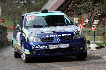 Rallye du Pays de Faverges 2019 - # 58 - Renault Clio Ragnotti [1CB]