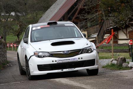 Rallye du Pays de Faverges 2019 - #  8 - Subaru Impreza WRX STI [1CB]