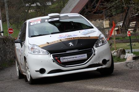 Rallye du Pays de Faverges 2019 - # 52 - Peugeot 208 R2 [1CB]