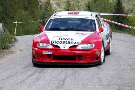 Rallye du Beaufortain 2005 - #  2 - Renault Mégane Maxi [1CA]